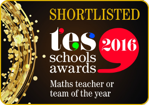 TES Maths Department of the Year 2016